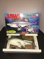 New listing Vintage Gemmy Jaws Big Mouth Billy Bass Mack the Knife Singing Shark Fishing Box