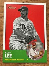 2012 TOPPS HERITAGE CLIFF LEE BLACK & WHITE CARD No.56 Philadelphia Phillies