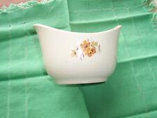 1950 Vintage Taylor Smith Taylor - Wood Rose-Pattern Gravy Bowl