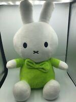 Large Miffy Plush Kids Stuffed Toy Animal Doll Bunny Rabbit Dick Bruna Green