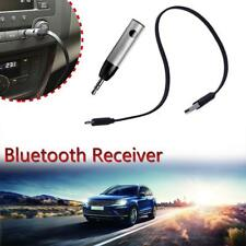 POP Wireless Bluetooth4.1 Mini Bullet 3.5mm Car Music Receiver Audio Adapter Mic