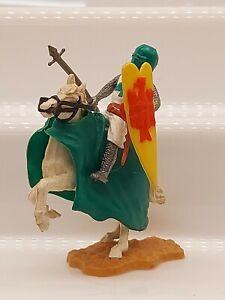Timpo plastic Medieval Knight mounted figure original