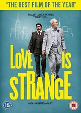 Love Is Strange (DVD) John Lithgow Film of the year New UK STOCK Alfred Molina