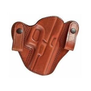 Tagua SH4-1168 Full Slide Shoulder Holster, Kahr PM Series 9 & 40, Brown, Left