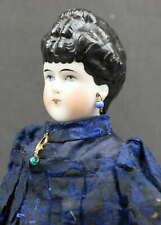 OUTSTANDING FANCY HAIR DO CHINA DOLL - Circa: 1860 - 1870'S