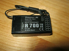 Empfänger Graupner R 700 - (40 Mhz)