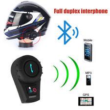 Interphone Intercom Casque Helmet Bluetooth walkie Pour Moto Motorcycle 500M