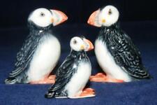 More details for klima miniature porcelain bird figures puffin family m137