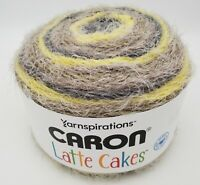 Yarnspirations Caron Latte Cakes Yarn - Gray Shock - No Wool