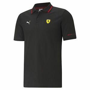 Ferrari F1 Mens Puma Polo - Black