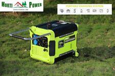 Generatore INVERTER BENZINA 3KW 3000W SUPER SILENT PURE SINE ELECTRIC START Wheels
