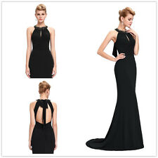 Long Bridesmaid Engagement Evening Ball Prom Party Formal Pageant Dress Size:6