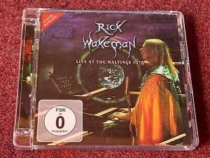 Rick Wakeman - Live At The Maltings 1976 (CD+DVD 2013) Prog Rock