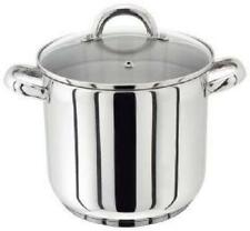 Judge Stockpot With Glass Lid Silver 28 Cm 13 Litre