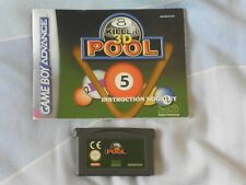 Game Boy Advance 3D Juego De Pool