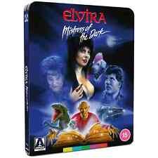 Elvira Mistress of The Dark Ltd Ed Steelbook Blu-ray Region B & Clear Protector