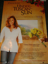 Under the Tuscan Sun movie poster, video release Diane Lane