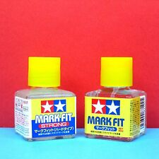 Tamiya #87102 Mark Fit [40ml] + #87135 Mark Fit (Strong) [40ml] decal softer set