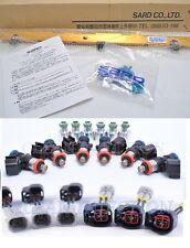 Sard Fuel Rail 1000cc bosch injectors JZX100 JZX110 JZZ30 VVT-i CRESTA 1JZGTE