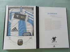 ~LIMITED ED~Adidas ARGENTINA TECHFIT 2010 WORLD CUP Futbol Soccer Shirt Jersey-M