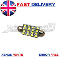 1x 42mm 16 SMD High Power LED Interior Canbus Light Bulb Vauxhall Vivaro Van