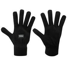 Gants LONSDALE noir (taille unique)