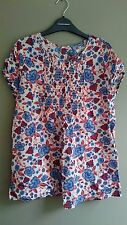 BRAND NEW White Floral Maternity Tunic/Gypsy Top -Sz 8- Colline from Vertbaudet