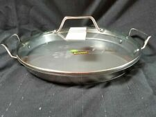 """Princess House Stainless Steel Nonstick 13"""" Round Griddle 6977"""