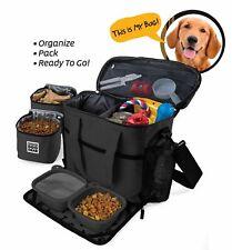 Overland Dog Gear 'Week Away' Bag Medium/Large Pet Travel Holiday Storage, Bowls