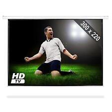ECRAN DE PROJECTION MANUEL HOME CINEMA VIDEO PROJECTEUR HDTV 300x220CM 4:3 16:9