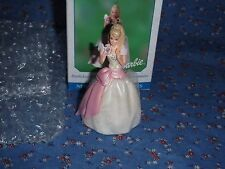 Hallmark Christmas Ornament Barbie Birthday Wishes 2001  First in Series