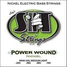 SIT Strings NR45105L Power Wound Medium-Light Nickel Bass 45-105