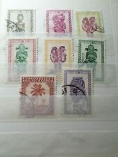 CONGO BELGE LOT timbres oblitérés CACHETS ROND, VF used STAMPS