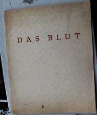 28609 Fred Antoine angermayer la sangre sonettenzyklus 1923 poemas EA Dresden