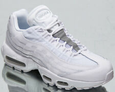 Nike Air Max 95 Essential Men's White Pure Platinum Low Lifestyle Sneakers Shoes