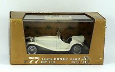 Brumm R77 Alfa Romeo 2300 1931 in white. Boxed Excellent