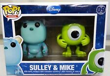 SULLEY & MIKE Funko Pop Mini 2 Pack Vinyl Figures Vaulted
