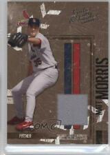 2004 Donruss Leather & Lumber Materials Jerseys /250 Matt Morris #136