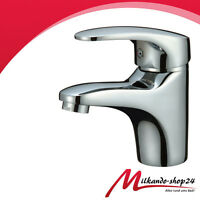 Waschbecken Waschtischarmatur Bad Armatur einhebelmischer Eco Wasserhahn Chrom !