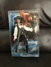 2010 PIRATES OF THE CARIBBEAN ANGELICA BARBIE PINK LABEL NRFB T7655