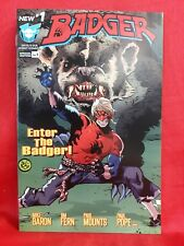 Badger #1- Paul Pope Variant, Mike Baron, Devil's Due, First Comics, 2016 Vf/Nm!