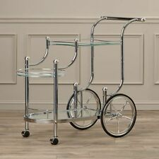 Bar Cart Small Kitchen Utility With Wheels Large Mini Modern Vintage Rolling New