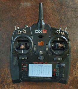 Spektrum DX8 G2 Transmitter and accessories