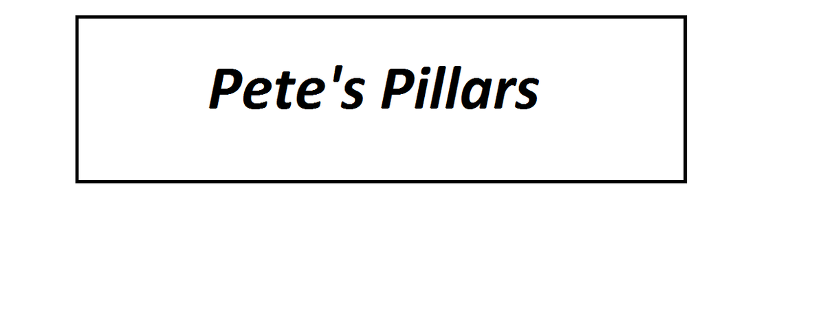 Pete's Pillars