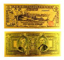 "★ BILLET POLYMER  "" OR "" DU 1 DOLLAR 1896 USA ● DESTOCKAGE ★"