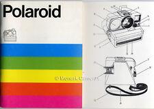 Polaroid 4000 & 5000 SONAR SX-70 fotocamera libro delle istruzioni. ulteriori Manuali elencati.