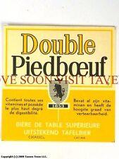 1960s Brouwerij Piedboeuf Double Label Tavern Trove