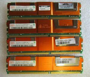 Hynix HYMP512F72CP8D2-Y5 398706-051 4GB 4x1GB PC2-5300 DDR2 ECC CL5 240P Memory