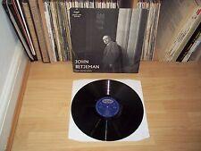 JOHN BETJEMAN reads selected poetry UK 1959 ARGO SPOKEN ARTS original TOP COPY !