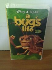 A BUG'S LIFE DISNEY VHS 1999 NEW SEALED HOPPER COVER CLAMSHELL CASE